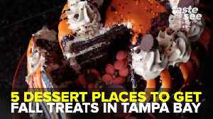 5 dessert places to get fall treats in Tampa Bay | Taste and See Tampa Bay [Video]