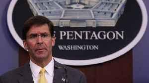 Defense Secretary Mark Esper Will Not Comply With House Subpoena [Video]