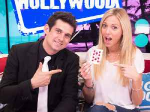 Magician Xavier Mortimer Talks Vegas Show & Performs Crazy Tricks [Video]