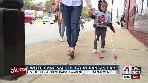 White Cane Safety Day in KCMO [Video]