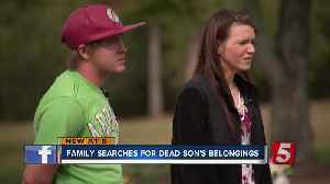 Family searches for dead son's belongings after storage unit fiasco [Video]