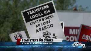 News video: ASARCO Teamsters strike over work conditions, benefits, pay
