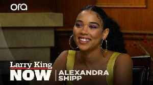 'You need that gratification': Alexandra Shipp on our addiction to social media [Video]