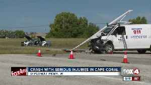 Crash with serious injuries in Cape Coral [Video]