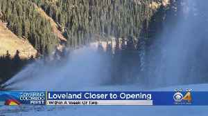 Loveland Ski Area Aiming To Open In The Coming Days [Video]