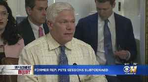 Former Texas Congressman Pete Sessions Subpoenaed Over Interactions With Giuliani And Associates [Video]