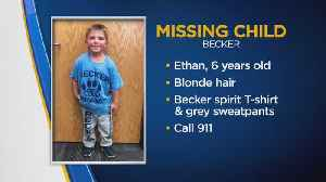 Crews Search For Missing Boy, 6 [Video]