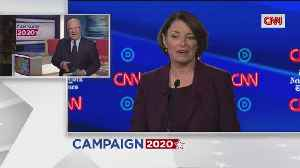 Democratic Presidential Candidates Debate In Ohio [Video]