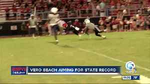 Vero Beach aiming for history 10/15 [Video]