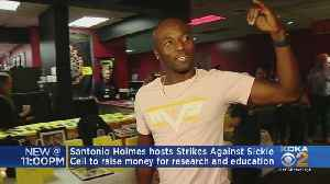 Steelers Super Bowl MVP Hosts Bowling Fundraiser For Sickle Cell Research [Video]