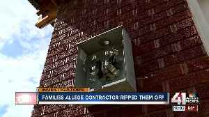 Families claim contractor ripped them off [Video]