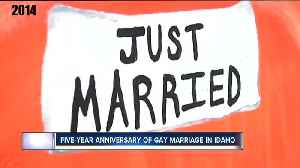 Five year anniversary of gay marriage legalization in Idaho [Video]