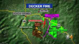 More Homeowners Evacuated For Decker Fire [Video]