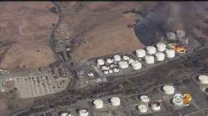 Massive Fire At Crockett Fuel Facility Contained, Shelter In Place Lifted [Video]
