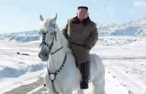North Korea's Kim rides white stallion ahead of 'great operation' [Video]