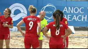 World Beach Games football: History being made in Doha [Video]