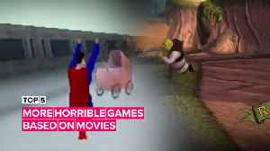 5 more horrible games based on movies [Video]