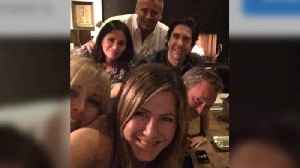 Jennifer Aniston debuts on Instagram with Friends reunion [Video]
