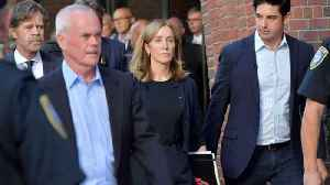 Felicity Huffman reports to prison to begin 14-day sentence [Video]