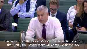 Stephen Barclay confirms Prime Minister would request Brexit delay if no deal in place [Video]