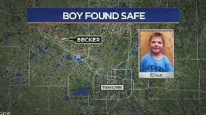 Drone With Thermal Camera Finds Boy, 6, Missing In Field [Video]