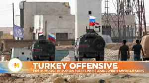 News video: Out with the US and in with Russia: troops take over America's abandoned Syria bases