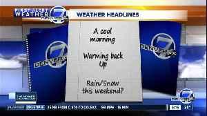 Wednesday 5:15 a.m. forecast [Video]