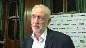 News video: Jeremy Corbyn shrugs off latest exit as Jewish MP Louise Ellman quits