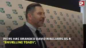 Piers Morgan blasts David Walliams for being two-faced [Video]
