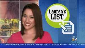 Lauren's List: Breast Cancer In Men Awareness [Video]