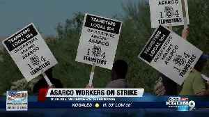 ASARCO Teamsters continue strike into Wednesday [Video]