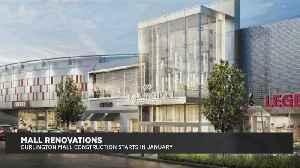 Burlington Mall Construction Plans [Video]