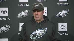 Eagles Head Coach Doug Pederson Addresses Media [Video]