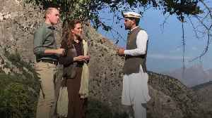 William and Kate visit Chiatibo Glacier in the Hindu Kush mountains [Video]