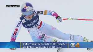 Lindsey Vonn Among 6 To Be Inducted Into Colorado Sports Hall Of Fame [Video]