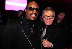 Elton John Let Stevie Wonder Drive a Snowmobile by Himself [Video]