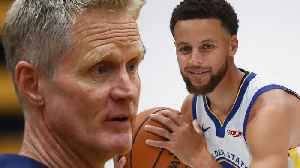 Steve Kerr Says Steph Curry Is At His PEAK, The BEST He's Ever Been [Video]