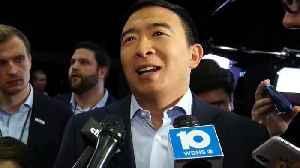 Andrew Yang on Tech Post Democratic Debate [Video]