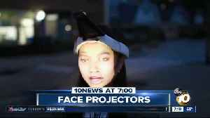 Face-projectors used to beat facial recognition technology? [Video]