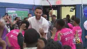 About 1,200 Philadelphia Students Receive New Coats Courtesy Of Sixers' Star Ben Simmons [Video]