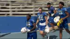 San Jose St. Football 'Stacking Up Wins' [Video]