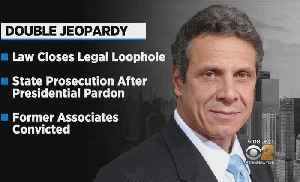 Cuomo Signs Law Closing 'Double Jeopardy' Loophole [Video]