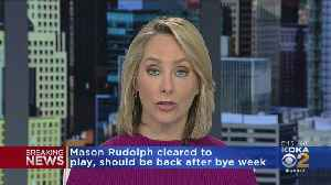 Mason Rudolph Clears Concussion Protocol [Video]