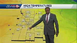 Temps will be warmer Thursday [Video]