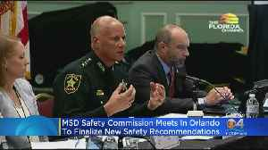 MSD Safety Commission Meets In Orlando To Finalize Safety Recommendations [Video]