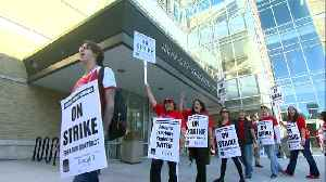 2012: Teachers Rally During First Strike In 25 Years [Video]