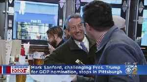 President Trump Challenger Mark Sanford Stops In Pittsburgh [Video]