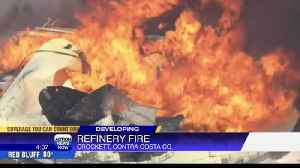 Fire at Bay Area oil facility prompts shelter in place [Video]