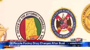 36 arrested, 74 lbs of meth, more seized in North Alabama drug trafficking operation [Video]