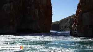 There's A Horizontal Waterfall In Australia [Video]